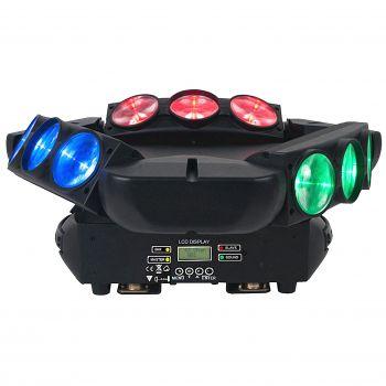 Effet à led RGBW 9x12W CREE