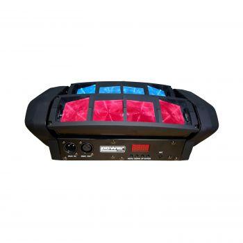 Effet à led 8x12W RGBW 4-en-1
