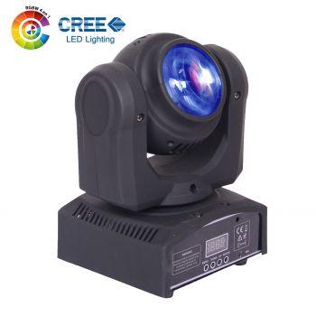 Lyre pocket beam/beam 4-EN-1 2x12W CREE