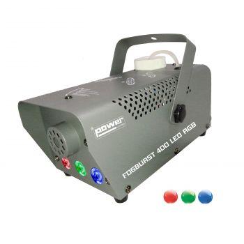 Machine à fumée 400W + 3 leds 1W RGB