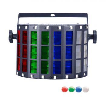 Derby 4x3W RGBW + strobe