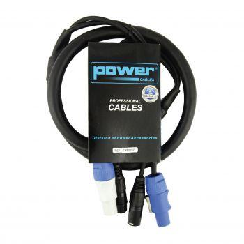 Câble 3m - POWERCON Mâle - POWERCON Femelle