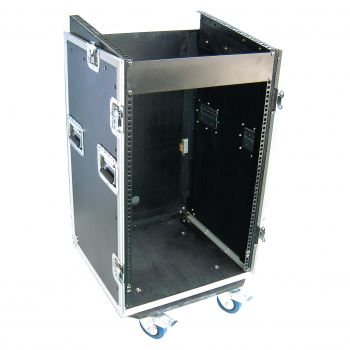 Flight Case 16U + Plan Incliné