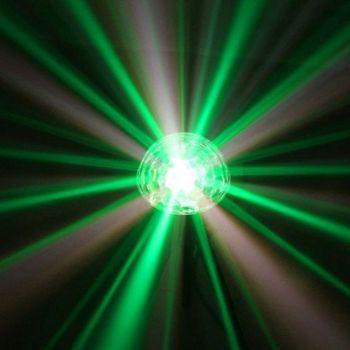 Demie sphère à led 9x3W RGBWAPPYP - finition noire