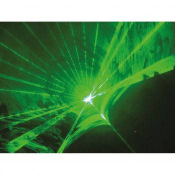 Laser à animations Vert 80MW DMX ILDA