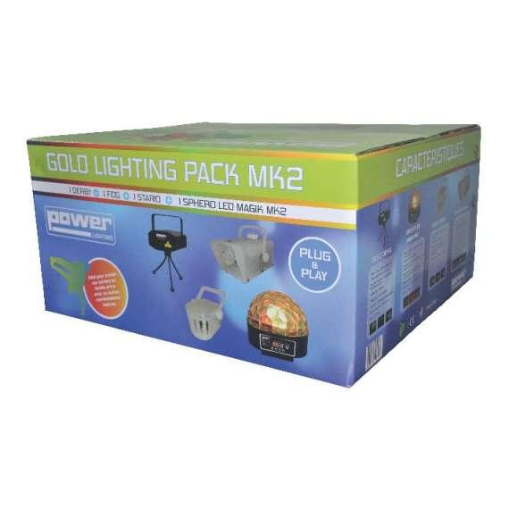 Pack: 1 laser + 1 maf + 1 derby + 1 sphero magik led