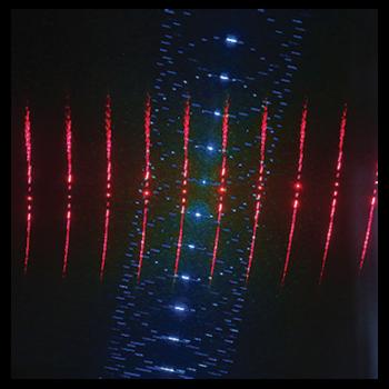 Laser multipoints à effets 3D 200MW RB