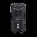 Sono Portable 200W + 100W + 2 Micros + Serre-tête + DVD + USB