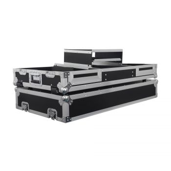 Flight case pour 2 CDJ 900 NEXUS / 2000 NEXUS + DJM 2000 NEXUS ou Mixeur 19''