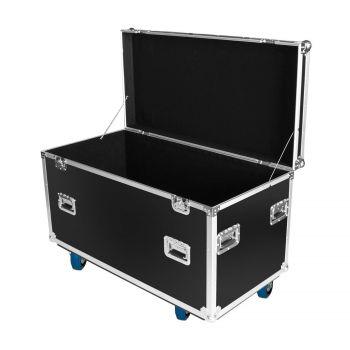 Flight case utilitaire multi-usages avec roues + coupelles