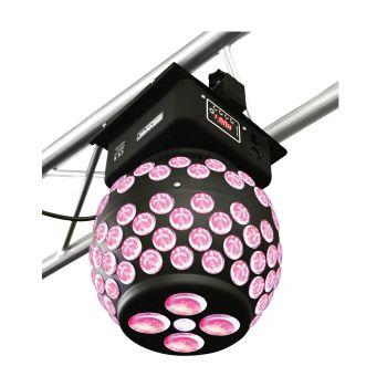 Sphère DMX 4 LEDs de 3W 4-en-1