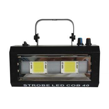Stroboscope 40W  2 LEDs Blanches