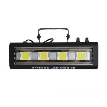 Stroboscope 80W  4 LEDs Blanches