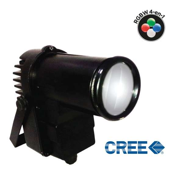 Spot led 10W 4-IN-1 RGBW CREE