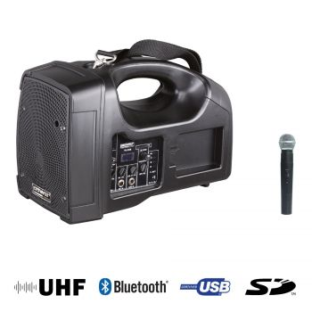 Sono Portable + USB + 1 Micro Main UHF + Bluetooth