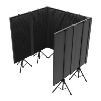Pack : 6x FOAM 400 PANEL + 3x FOAM 400 JOINT + 2x FOAM 400 ANGLE