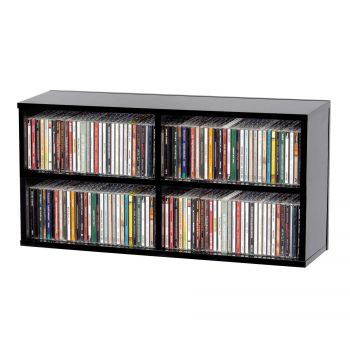 Casier de rangement 180 CD finition noir