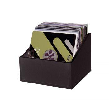 Casiers Rangement 110 Vinyles Finition Noir