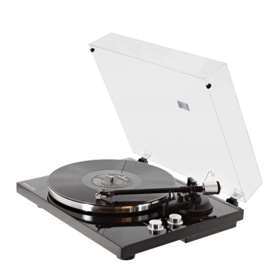 Platine vinyle hifi USB/Bluetooth - finition noire