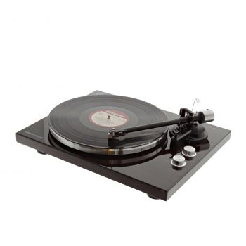 Platine vinyle hifi USB/Bluetooth - finition bois brillant