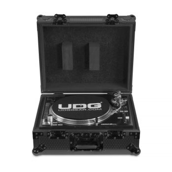 Flight-case black MK2 pour platine vinyle