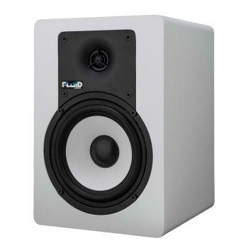 """Enceinte monitoring 5"""" Bluetooth blanche - vendue par paire"""