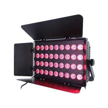Panel LED 36x10 W RGBWAUV 6-en-1