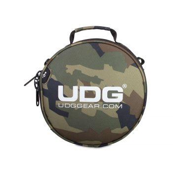 UDG Ultimate DIGI Headphone Bag Black Camo Orange