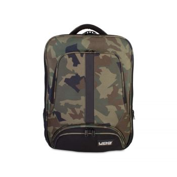 UDG Ultimate Backpack Slim Black Camo Orange Inside