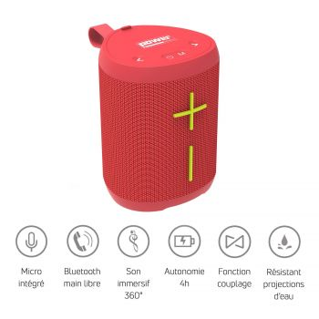 GETONE 20 Enceinte Nomade Bluetooth Compacte