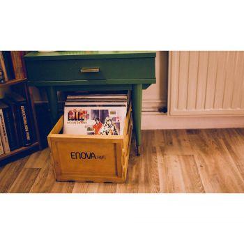 CAISSE STOCKAGE 120 LP - FINITION BOIS