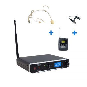 Micro Serre Tête Simple UHF