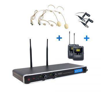 Micro Double Serre Tête Simple UHF