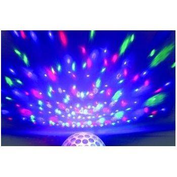Demi Sphère 6 Leds de 3W RGB