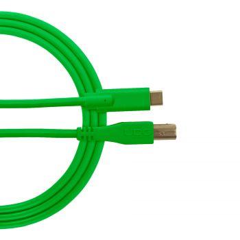 câble udg usb 2.0 c-b vert droit 1.5m