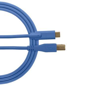 câble udg usb 2.0 c-b bleu droit 1.5m