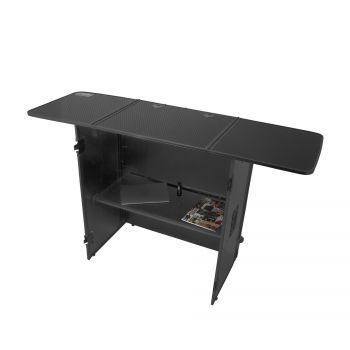 FLIGHT CASE TABLE DJ BLACK