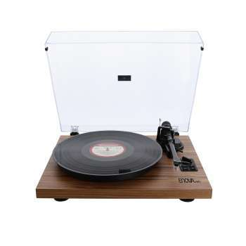Pack Platine vinyle hifi USB/Bluetooth - finition bois