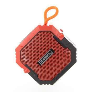 Enceinte Nomade Bluetooth Compacte - Couleur Orange