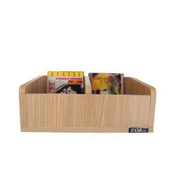 Meuble bois pour vinyles 45 tours