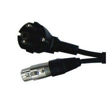 Câble d'alimentation 10m - XLR 3 PIN Mâle - XLR 3 PIN Femelle