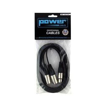Câble 3m - XLR 3 PIN Femelle - XLR 3 PIN Mâle