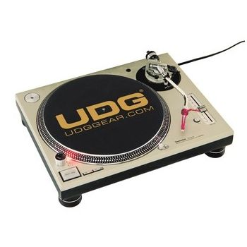 UDG Slipmat Set Black / Golden