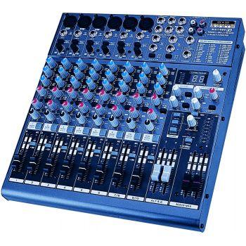 Mixer 8 Voies avec DSP - Livrée avec équerres 19