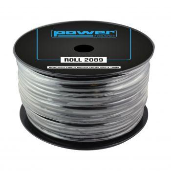 Rouleau câble micro-ligne 2x0.4 100m