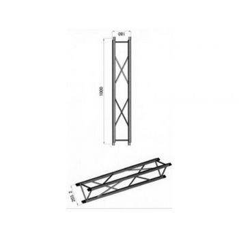 Structure Aluminium Longueur 1 Mètre - MD BT1