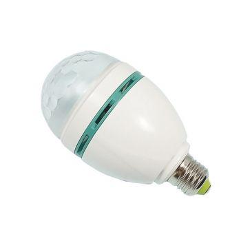 Ampoule E27 Demi Sphère 3x1W RGB