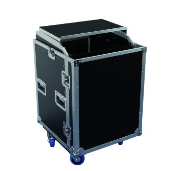 Flight Case 12 U+Plan incliné+Plateau