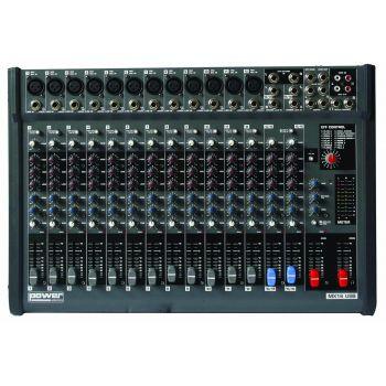 Table de Mixage 12 entrées XLR avec USB - MX 16 USB