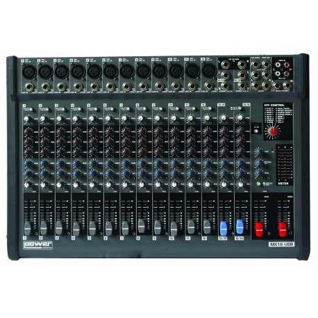 table de mixage 6 entrees xlr